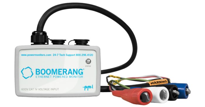 boomerang 3 phase voltage power monitor SCADA