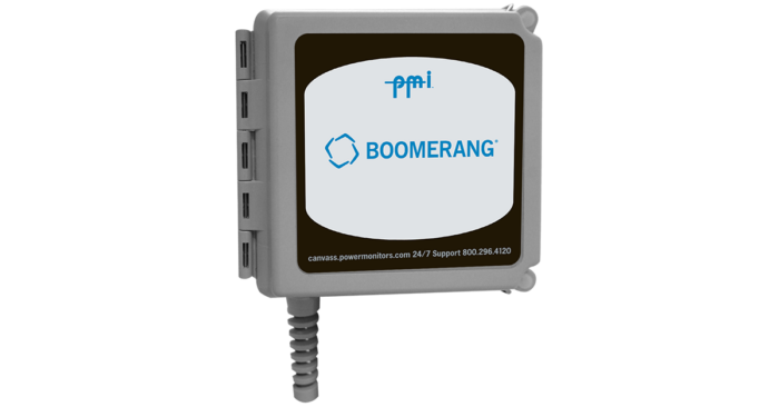boomerang pole mount voltage current power monitor SCADA